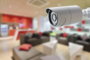 CCTV camera in office